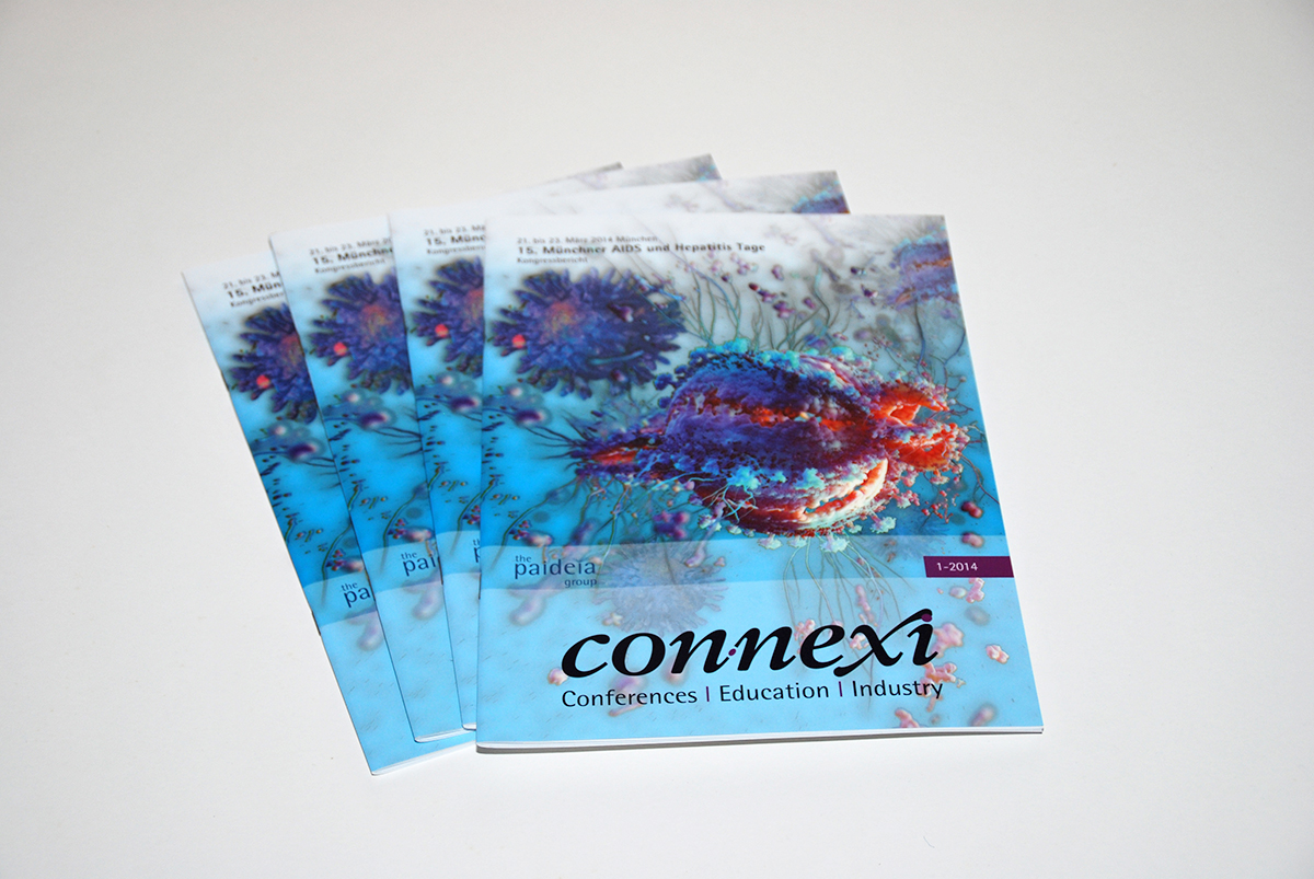 editorial design, magazin, connexi magazin, berlin, AIDS, HIV, Hepatitis