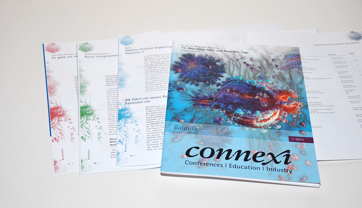 editorial design, magazin, connexi magazin,